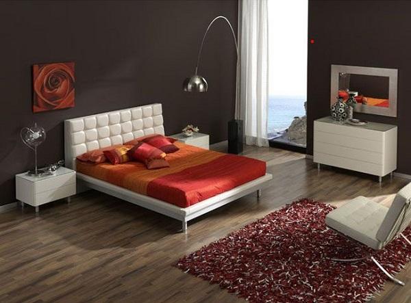 Arco Lamp Bedroom